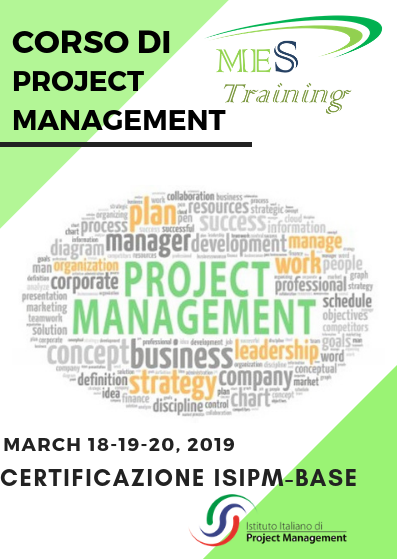 Corso di Project Management ISIPM Base